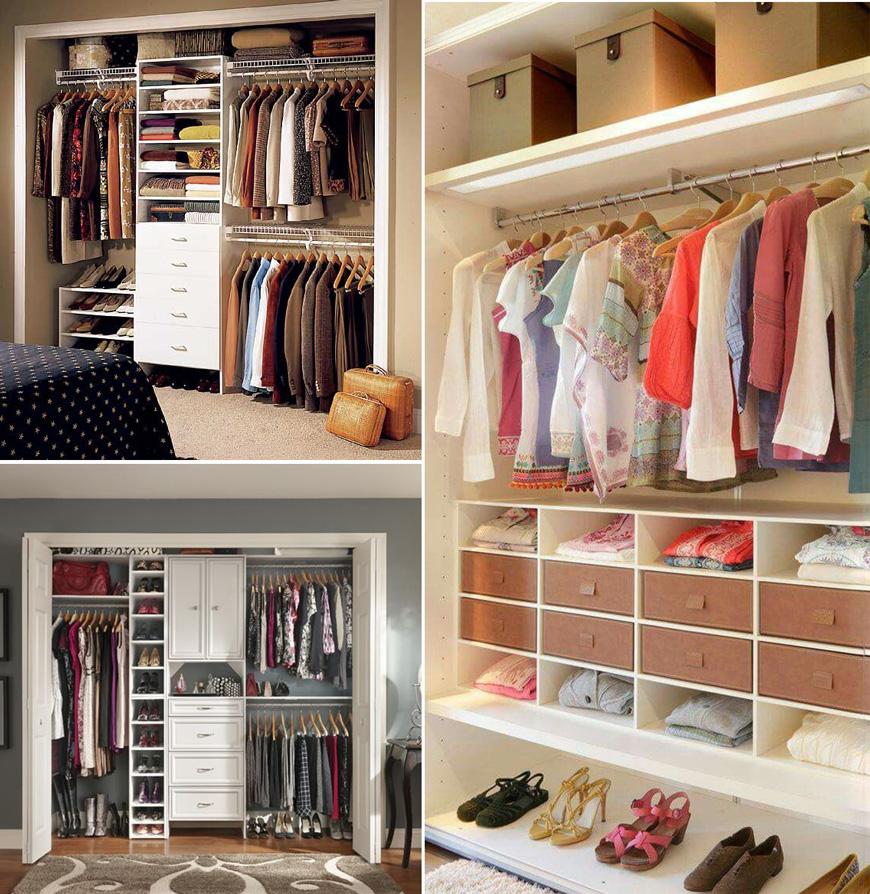 Как да организираш гардероба си така, че да намираш бързо каквото ти трябва