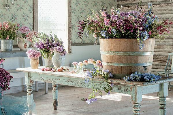 Как да използваш цветята като инструмент за дизайн