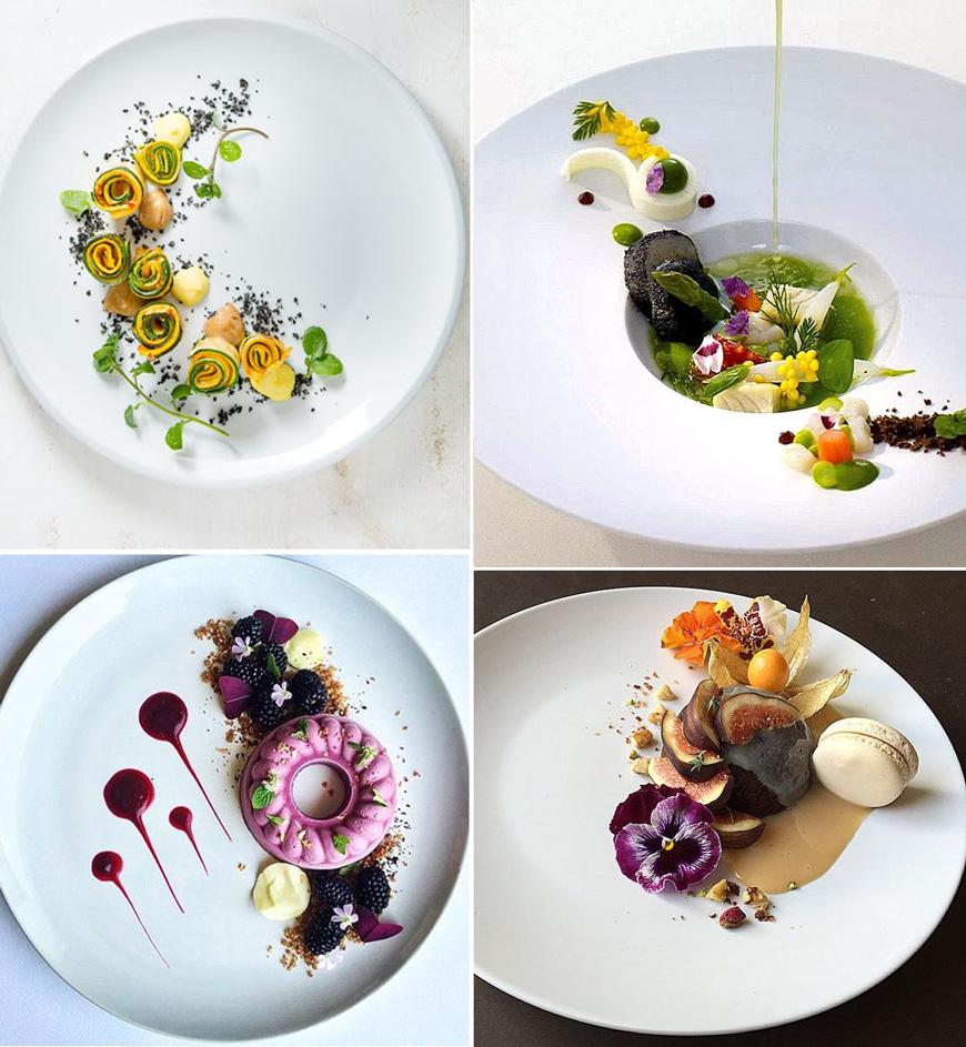 Как да аранжираш храната си красиво в чиния