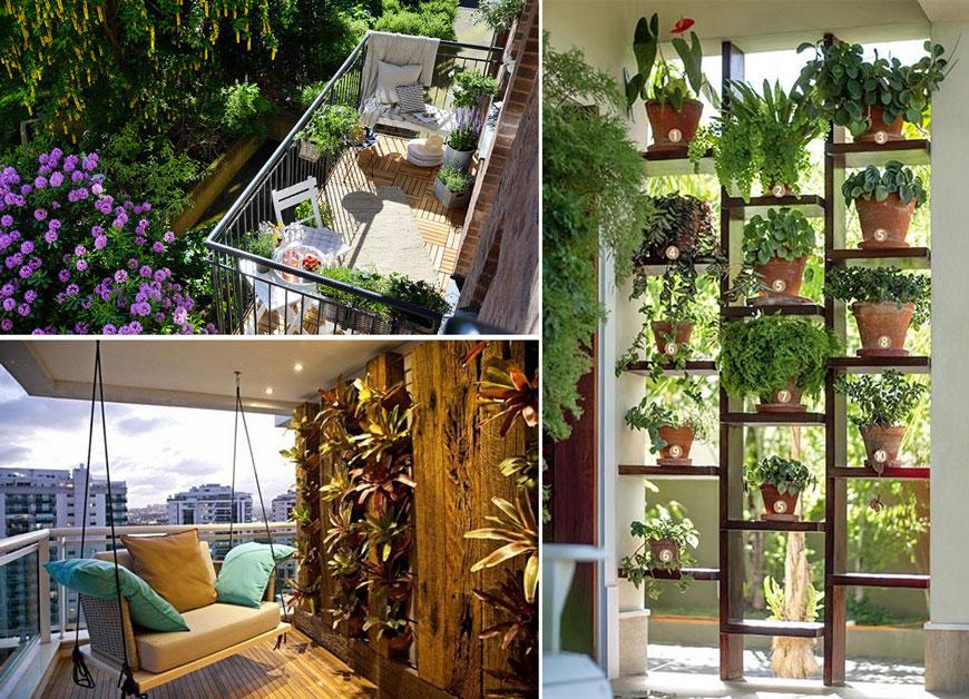 Как да превърнем балкона си във вълшебна градина