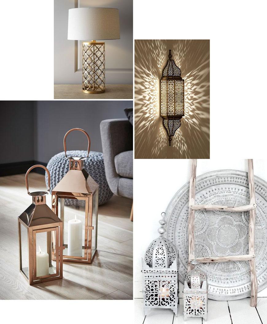 Как да декорираме със злато, мед и сребро у дома