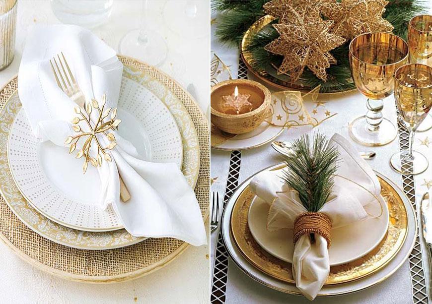 6 начина да придадеш блясък на празничната маса