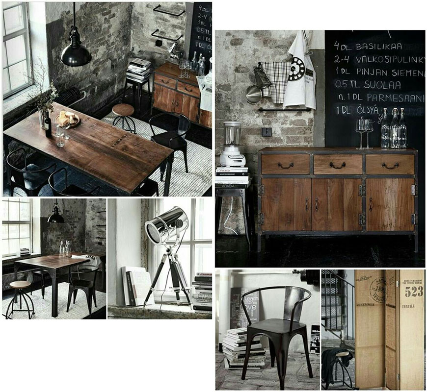 10 начина да постигнеш индустриален стил у дома
