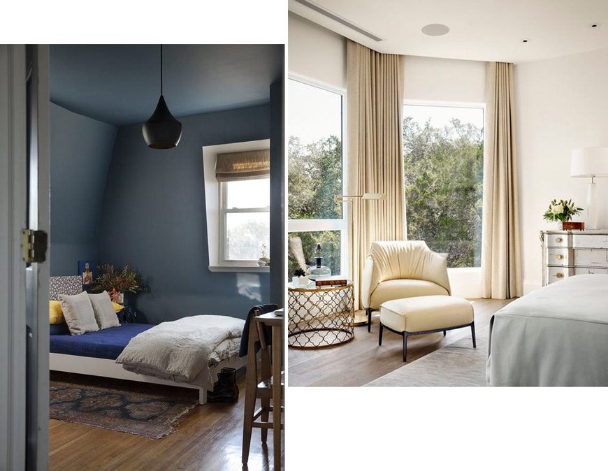 5 съвета за стаи с ниски тавани