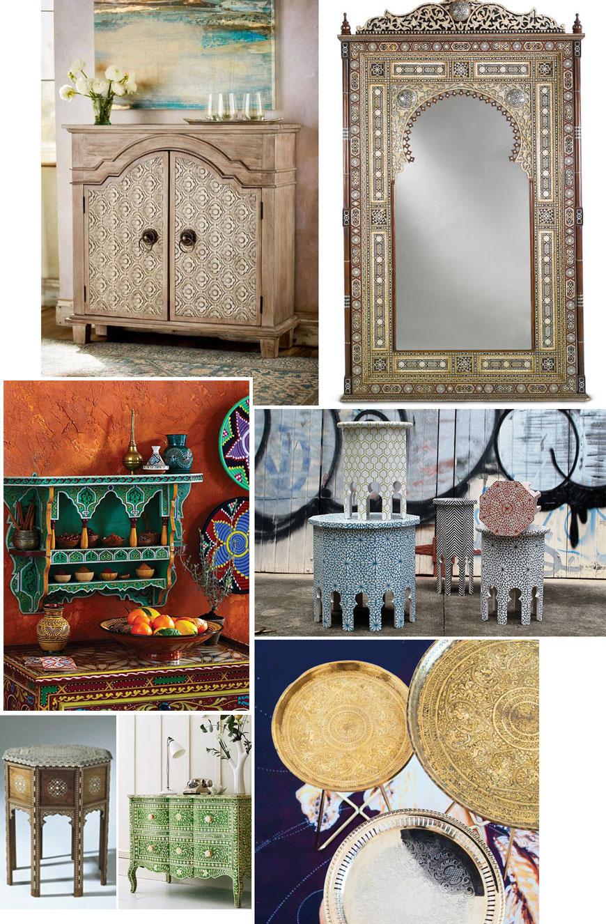 Мароканската концепция за интериорен дизайн
