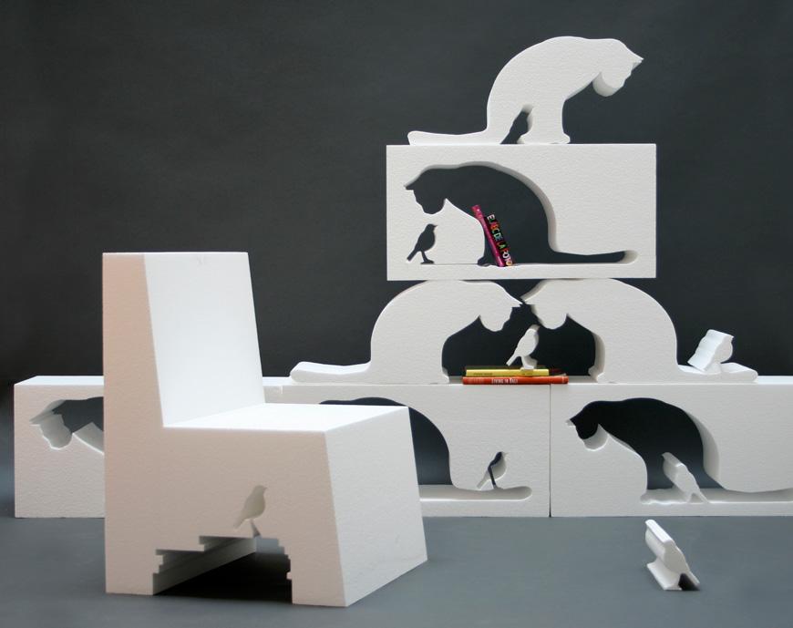 Интериорен дизайн и негативно пространство