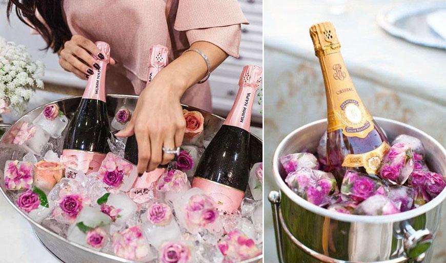 Как да сервираме шампанско със стил