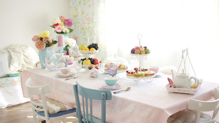 Как да организираш съвършеното следобедно пролетно парти