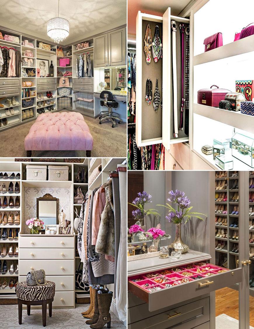 Как да направиш перфектната гардеробна стая