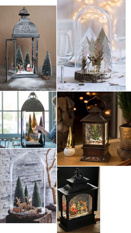 4 начина да използваме фенерите за коледна декорация