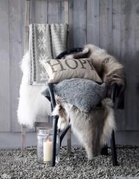 Как да декорираме дома си с пухени кожи
