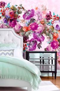 Как да съчетаваме успешно дамаски и десени на цветя