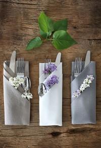 Как да избереш платнени салфетки за своята маса