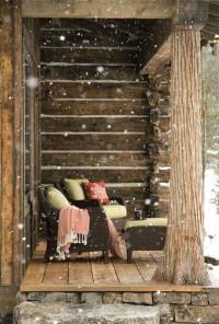 Как да пренесеш очарованието на дървената хижа в градския апартамент