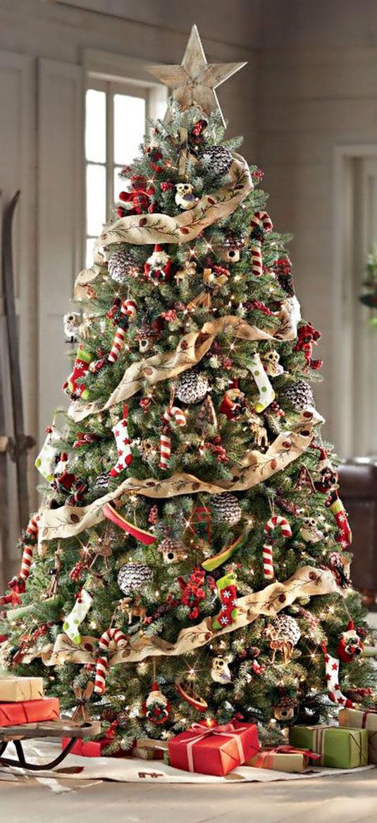 Традиционните стилове на коледната елха